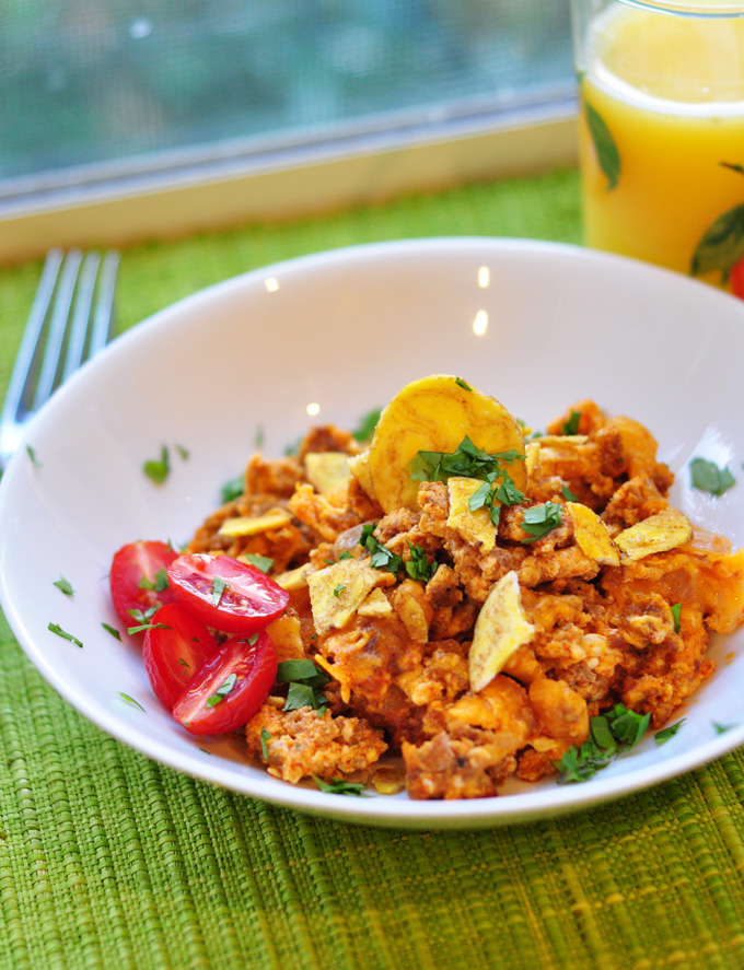 Chorizo-and-eggs